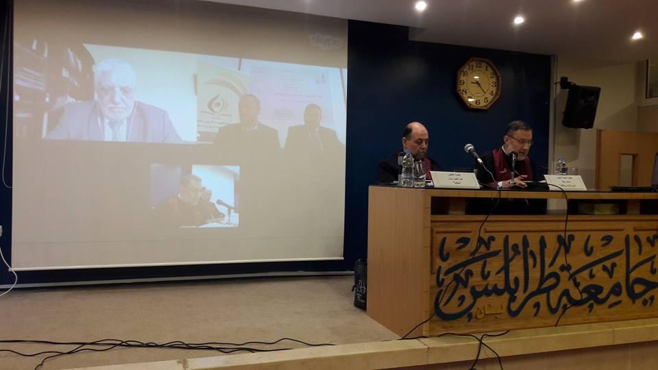 جلسة مناقشة أطروحة الباحث محمود أحمد الشحادات (2/2)