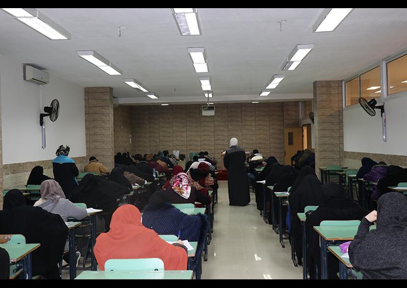 امتحانات الفصل الأول للعام الجامعي 1441-1442 هـ. / 2019-2020 م. في جامعة طرابلس (4/8)