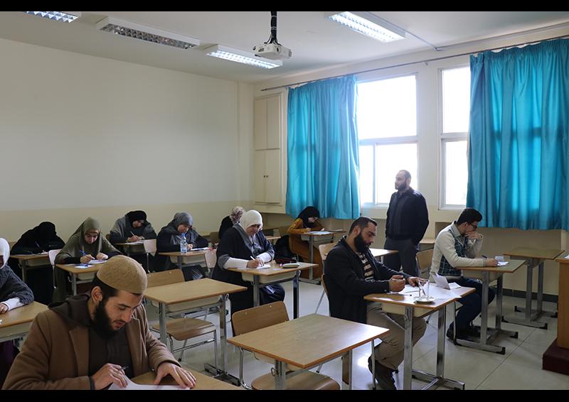 امتحانات الفصل الأول للعام الجامعي 1441-1442 هـ. / 2019-2020 م. في جامعة طرابلس (5/8)