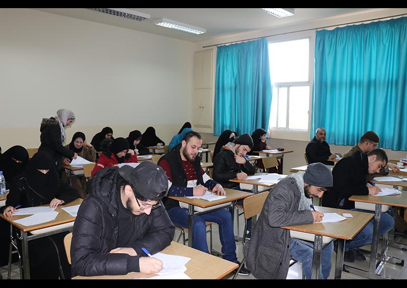 امتحانات الفصل الأول للعام الجامعي 1441-1442 هـ. / 2019-2020 م. في جامعة طرابلس (6/8)