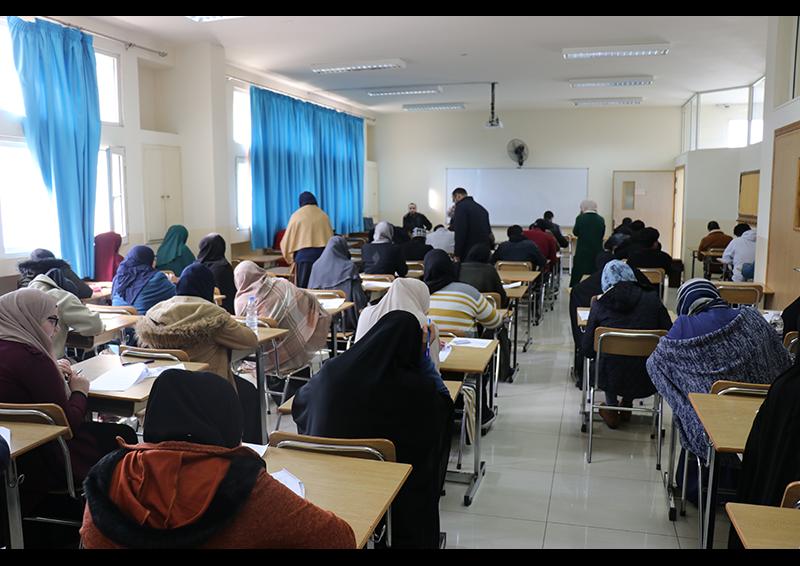 امتحانات الفصل الأول للعام الجامعي 1441-1442 هـ. / 2019-2020 م. في جامعة طرابلس (8/8)