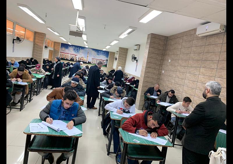 امتحانات الفصل الأول للعام الجامعي 1441-1442 هـ. / 2019-2020 م. في جامعة طرابلس (1/8)