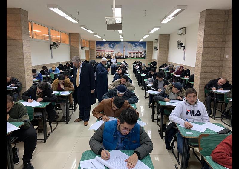 امتحانات الفصل الأول للعام الجامعي 1441-1442 هـ. / 2019-2020 م. في جامعة طرابلس (3/8)