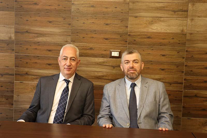رئيس رابطة الجامعيين في الشمال يزور جامعة طرابلس ويلتقي رئيس مجلس أمنائها (1/2)