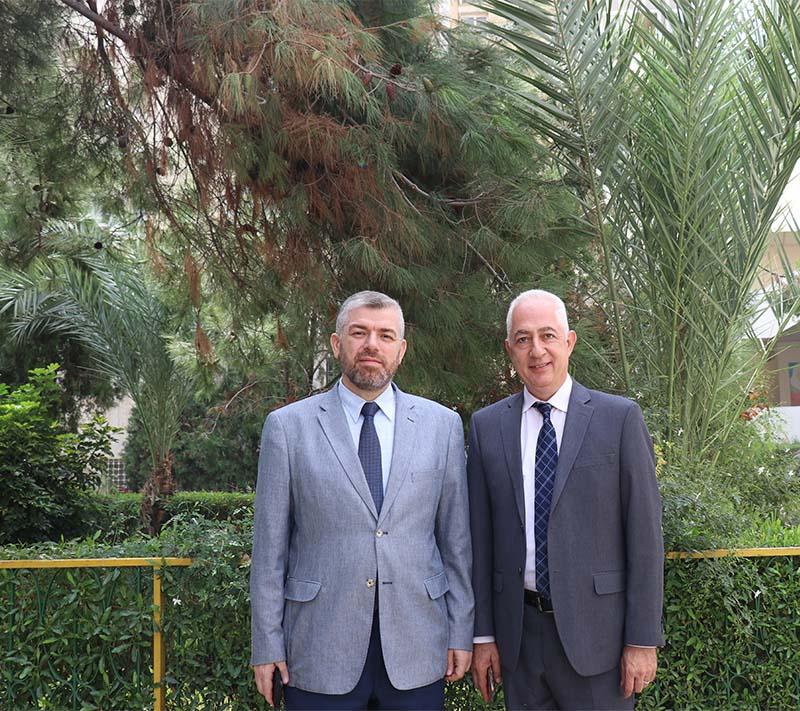 رئيس رابطة الجامعيين في الشمال يزور جامعة طرابلس ويلتقي رئيس مجلس أمنائها (2/2)