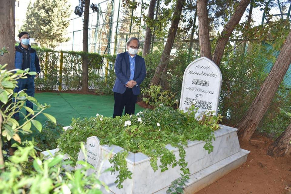 السفير الأندونيسي في لبنان يزور جامعة طرابلس وضريح الشيخ الميقاتي رحمه الله (1/2)