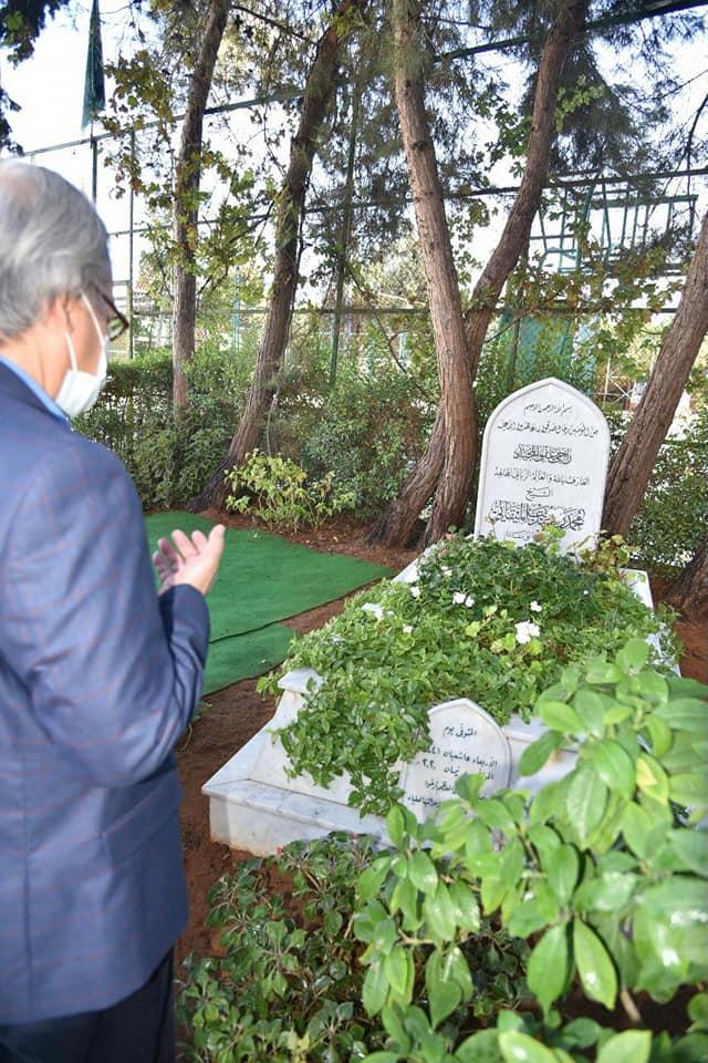 السفير الأندونيسي في لبنان يزور جامعة طرابلس وضريح الشيخ الميقاتي رحمه الله (2/2)