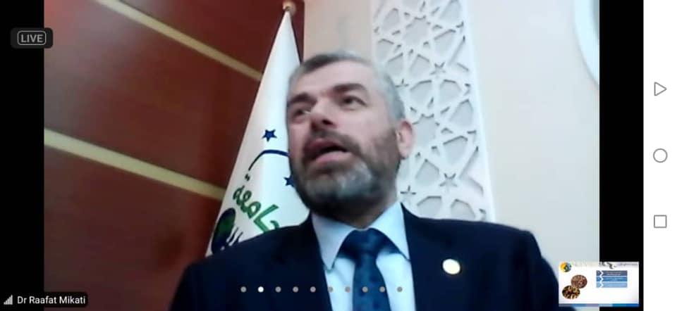 رئيس جامعة طرابلس لبنان محاضرا في دار العلم والعلماء (3/3)