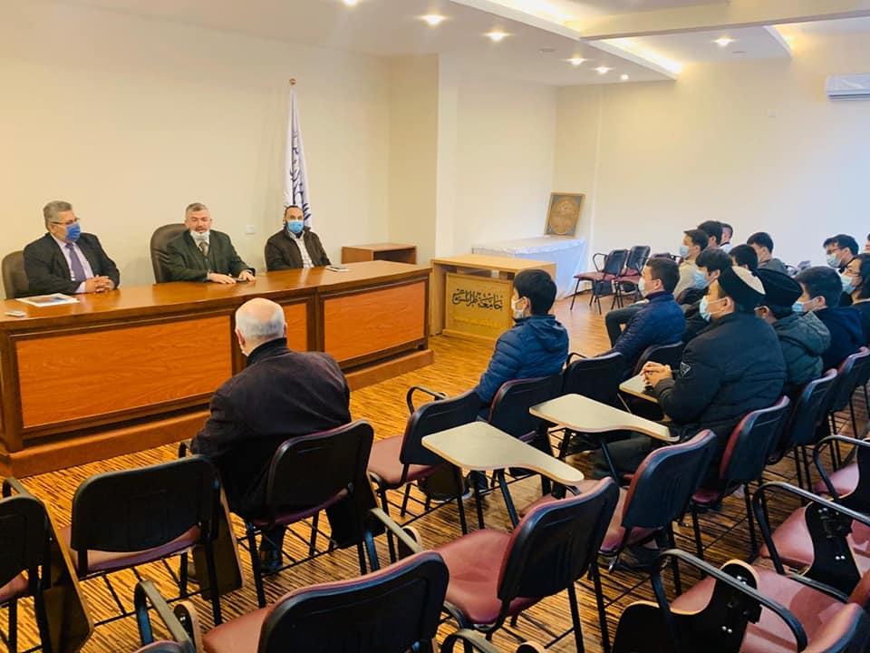 المستشار الأول في السفارة الفلسطينية في بيروت زائرًا جامعة طرابلس : هذا الصرح مفخرة عربية وإسلامية (3/6)