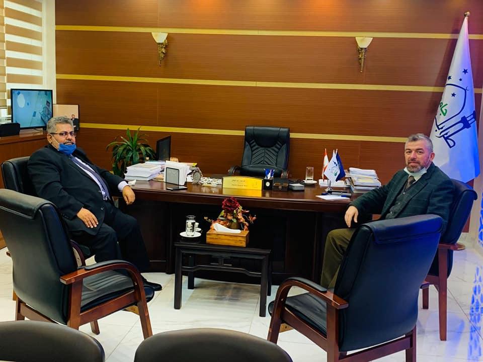 المستشار الأول في السفارة الفلسطينية في بيروت زائرًا جامعة طرابلس : هذا الصرح مفخرة عربية وإسلامية (1/6)