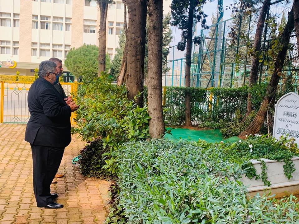 المستشار الأول في السفارة الفلسطينية في بيروت زائرًا جامعة طرابلس : هذا الصرح مفخرة عربية وإسلامية (6/6)