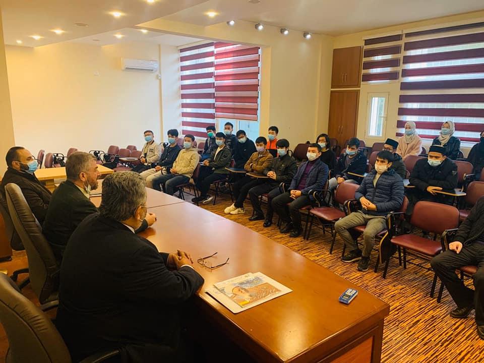 المستشار الأول في السفارة الفلسطينية في بيروت زائرًا جامعة طرابلس : هذا الصرح مفخرة عربية وإسلامية (4/6)