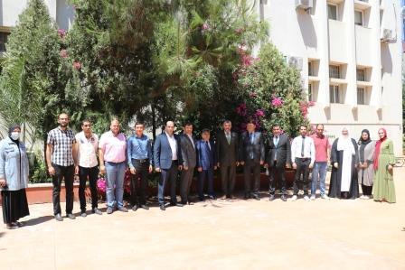 البعثة الدبلوماسية لجمهورية كازاخستان  في لبنان تزور جامعة طرابلس (9/13)