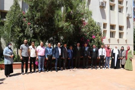 البعثة الدبلوماسية لجمهورية كازاخستان  في لبنان تزور جامعة طرابلس (10/13)