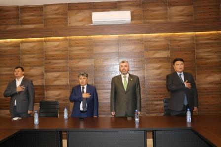 البعثة الدبلوماسية لجمهورية كازاخستان  في لبنان تزور جامعة طرابلس (11/13)