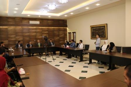 البعثة الدبلوماسية لجمهورية كازاخستان  في لبنان تزور جامعة طرابلس (12/13)