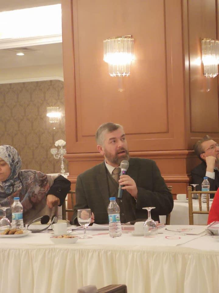 رئيس جامعة طرابلس لبنان مشاركا في أعمال معهد الأسرة الدولي في استانبول (3/3)