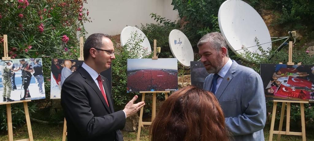 رئيس جامعة طرابلس مشاركا في حفل السفارة التركية (2/6)