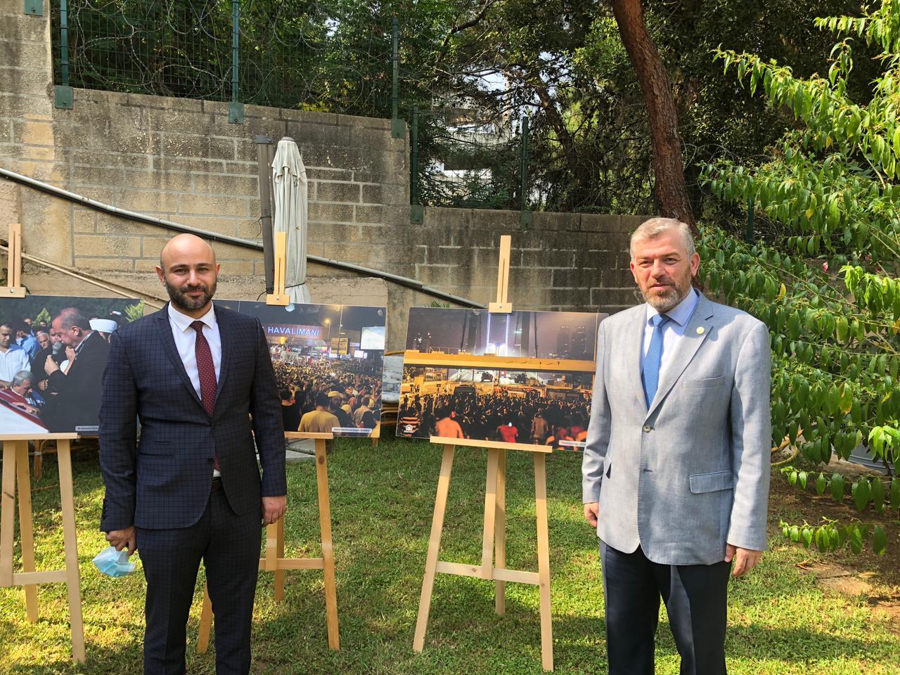 رئيس جامعة طرابلس مشاركا في حفل السفارة التركية (3/6)