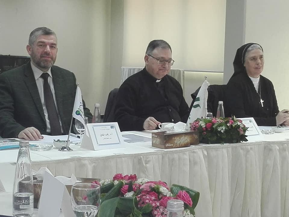 خلوة رؤساء الجامعات الأعضاء في رابطة جامعات لبنان  (2/9)