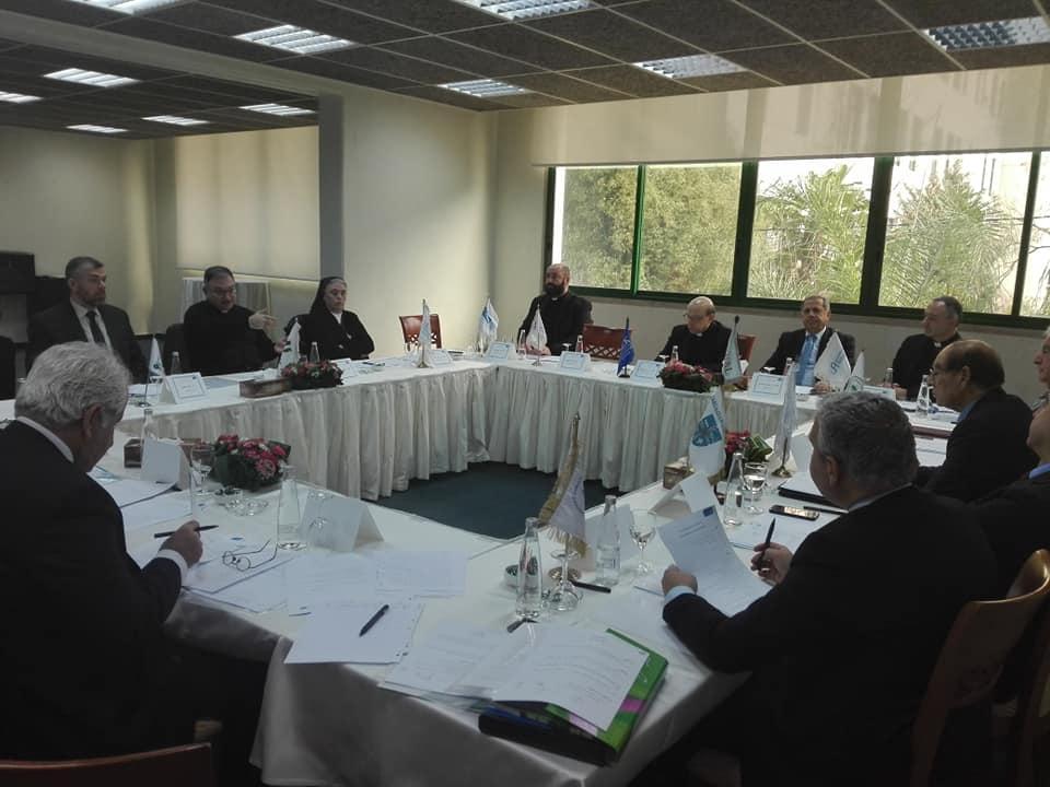 خلوة رؤساء الجامعات الأعضاء في رابطة جامعات لبنان  (4/9)