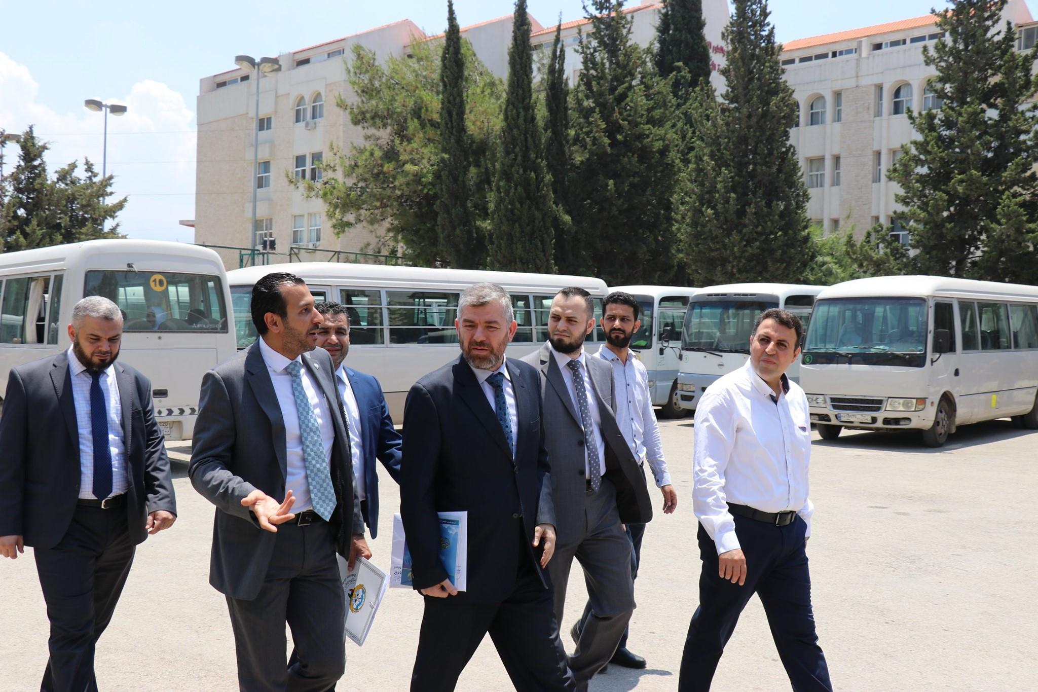 السكرتير الأول في السفارة الكويتية في بيروت يزور مجمع الإصلاح الإسلامي في طرابلس (2/5)