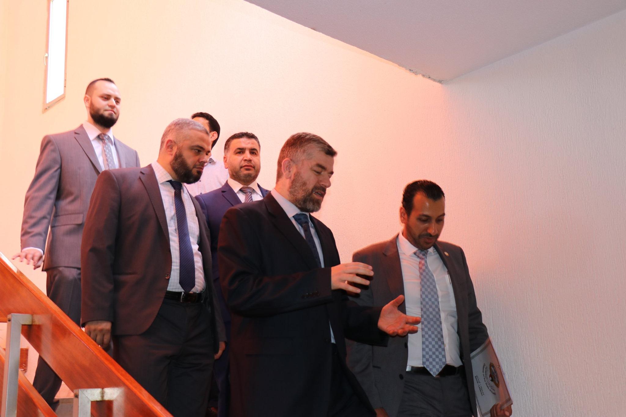 السكرتير الأول في السفارة الكويتية في بيروت يزور مجمع الإصلاح الإسلامي في طرابلس (4/5)