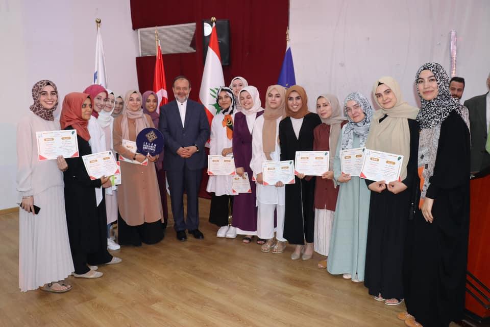 جامعة طرابلس تختتم البرنامج الصيفي لتدريس اللغة العربية للناطقين بغيرها (8/10)