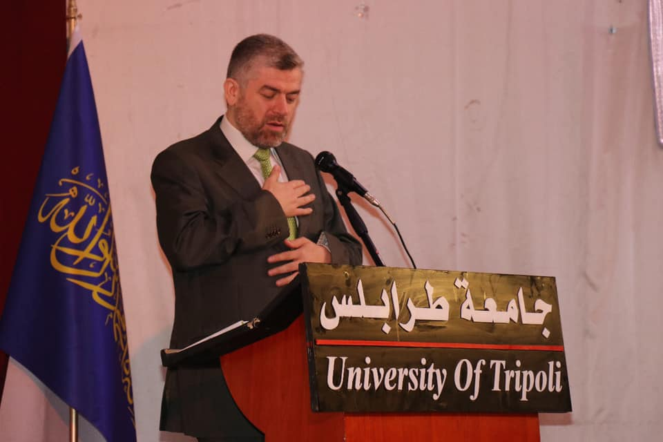 جامعة طرابلس تختتم البرنامج الصيفي لتدريس اللغة العربية للناطقين بغيرها (9/10)