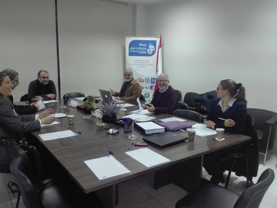 عميد كلية إدارة الأعمال في جامعة طرابلس أ.د.عمار يكن مشاركاً في اجتماع لجنة البحث العلمي في رابطة جامعات لبنان (2/2)