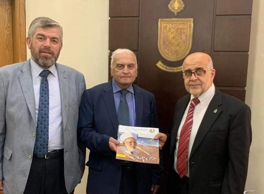 وفد من جمعية الإصلاح الإسلامية وجامعة طرابلس في زيارة رسمية لرئيس بلدية طرابلس (1/2)