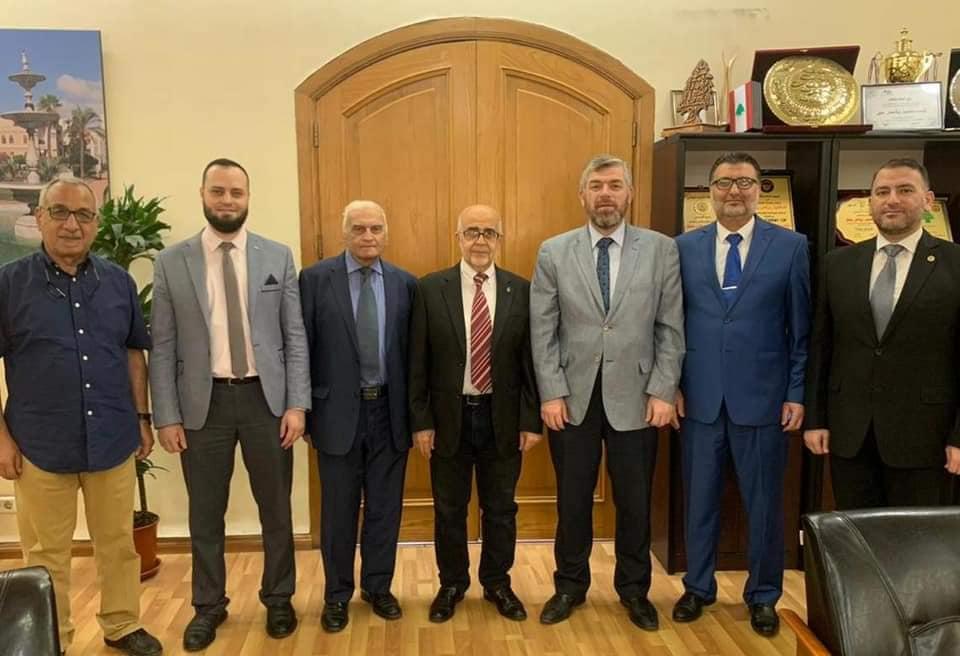 وفد من جمعية الإصلاح الإسلامية وجامعة طرابلس في زيارة رسمية لرئيس بلدية طرابلس (2/2)