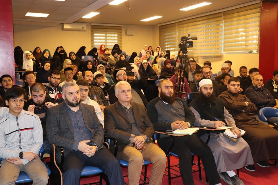 مدير معهد المخطوطات العربية الدكتور فيصل الحفيان محاضراً في جامعة طرابلس (4/4)