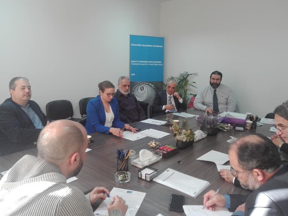 عميد كلية إدارة الأعمال في جامعة طرابلس أ.د.عمار يكن مشاركاً في اجتماع لجنة البحث العلمي المشترك في رابطة جامعات لبنان (1/2)