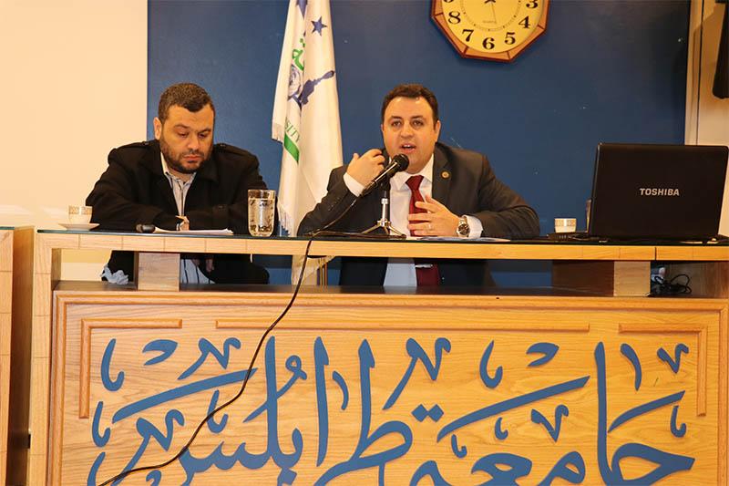 ندوة في جامعة طرابلس  بمناسبة اليوم العالمي للغة العربية (6/6)