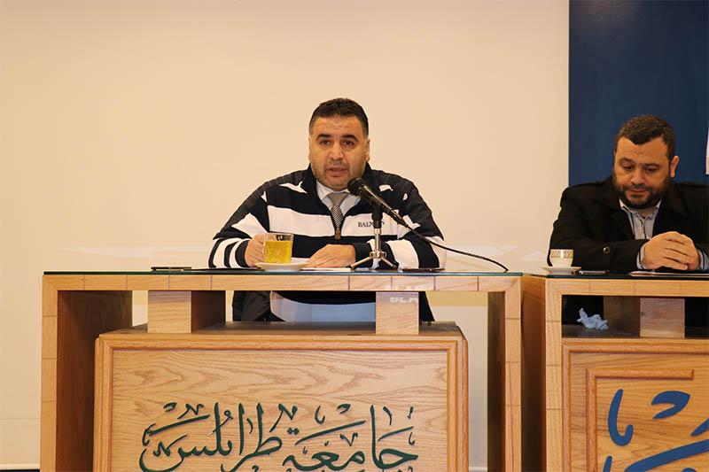 ندوة في جامعة طرابلس  بمناسبة اليوم العالمي للغة العربية (4/6)