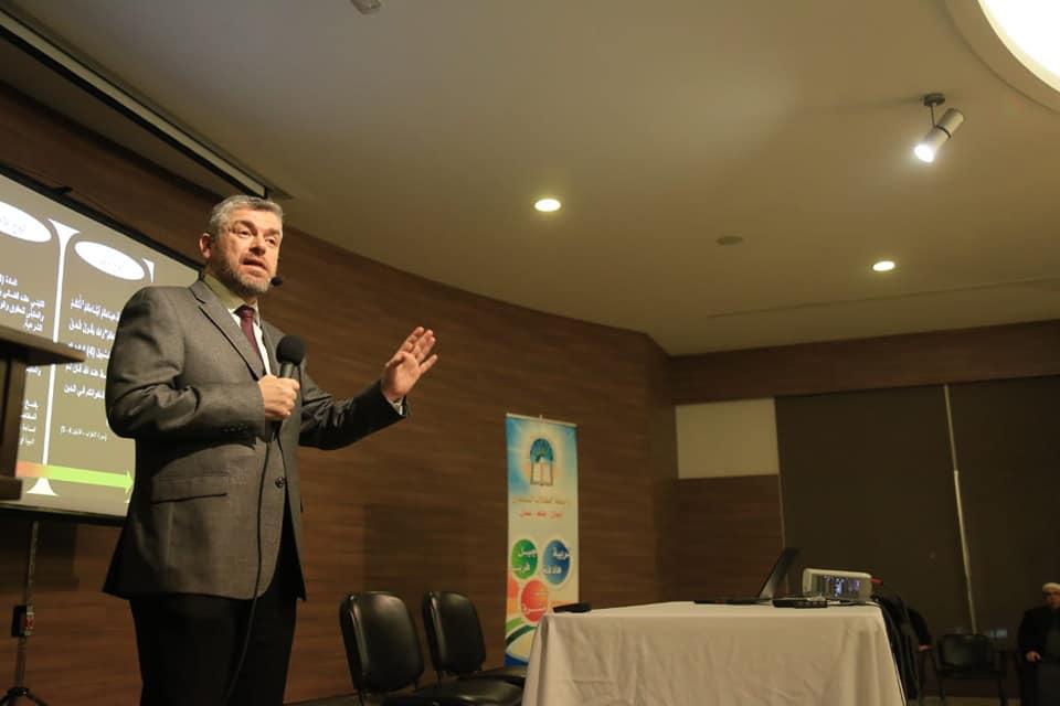 رئيس جامعة طرابلس من صيدا:  الزواج المسمى مدنيا وصفة مناسبة جدا لانهيار الأسرة كما ثبت ذلك في الغرب (1/4)