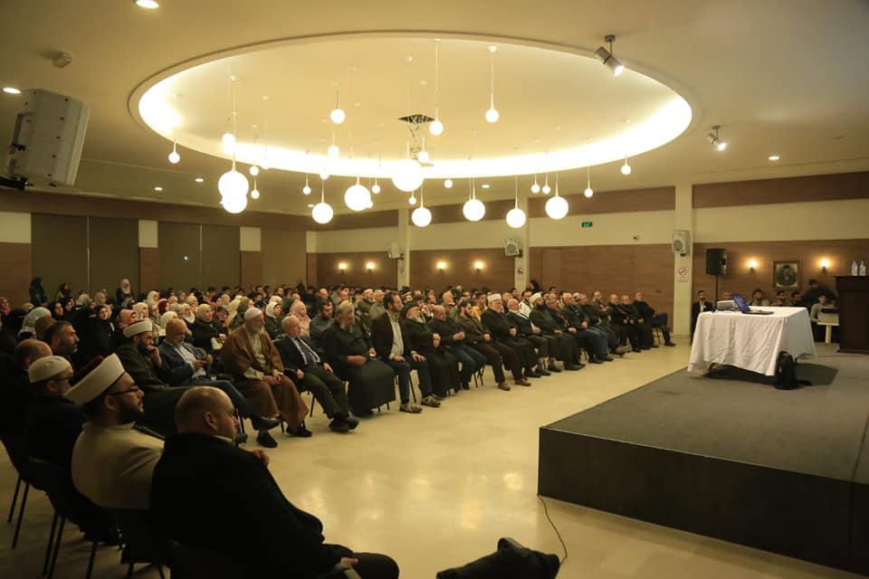 رئيس جامعة طرابلس من صيدا:  الزواج المسمى مدنيا وصفة مناسبة جدا لانهيار الأسرة كما ثبت ذلك في الغرب (2/4)