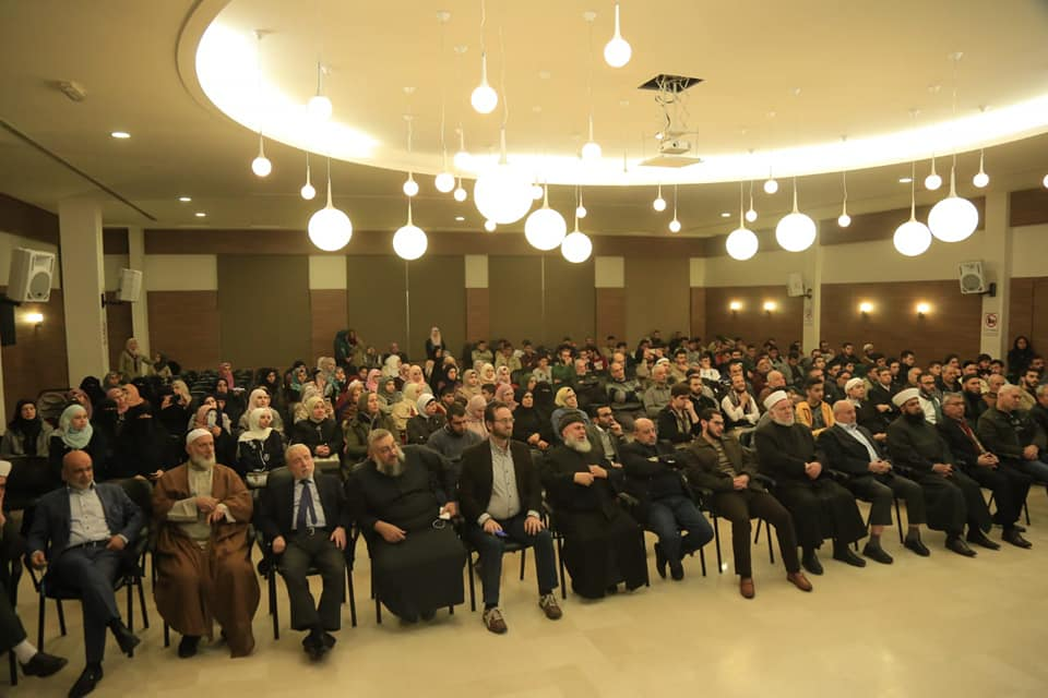 رئيس جامعة طرابلس من صيدا:  الزواج المسمى مدنيا وصفة مناسبة جدا لانهيار الأسرة كما ثبت ذلك في الغرب (4/4)