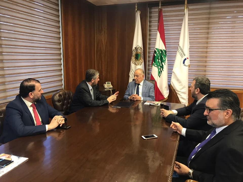 دبوسي: شراكة غرفة وجامعة طرابلس تساهم في تعزيز قوة المدينة (1/3)