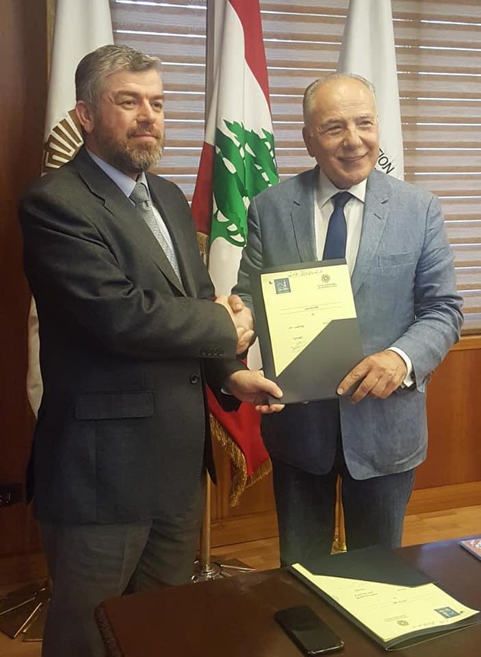 دبوسي: شراكة غرفة وجامعة طرابلس تساهم في تعزيز قوة المدينة (2/3)