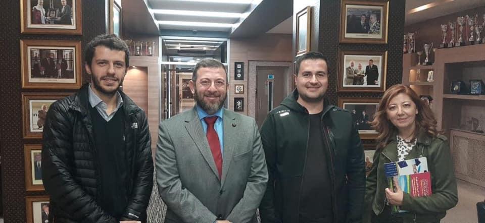 وفد من جامعة طرابلس بزيارة أكاديمية وعلمية إلى تركيا  (4/5)