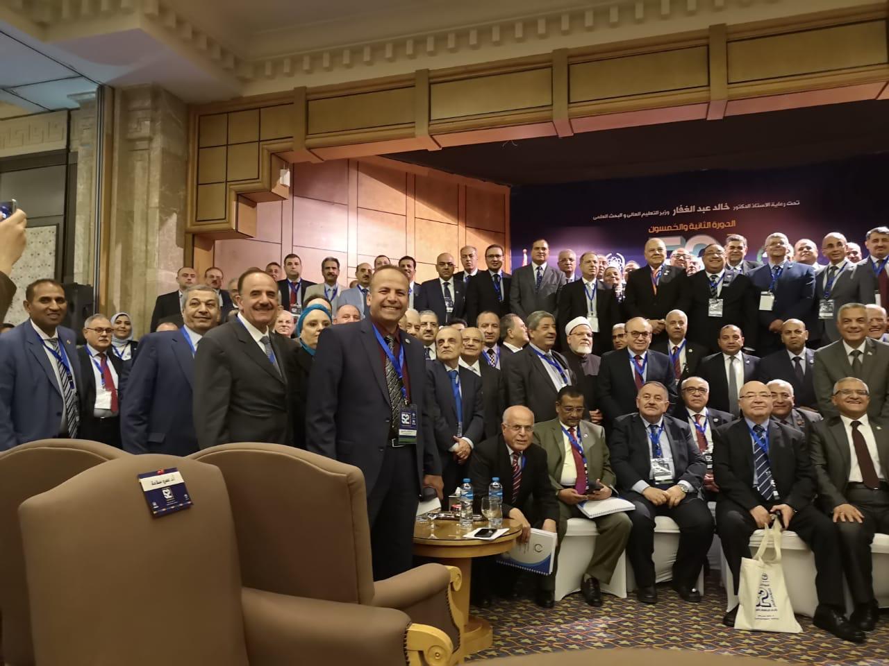 جامعة طرابلس تشارك في المؤتمر العام لاتحاد الجامعات العربية في شرم الشيخ  (1/2)