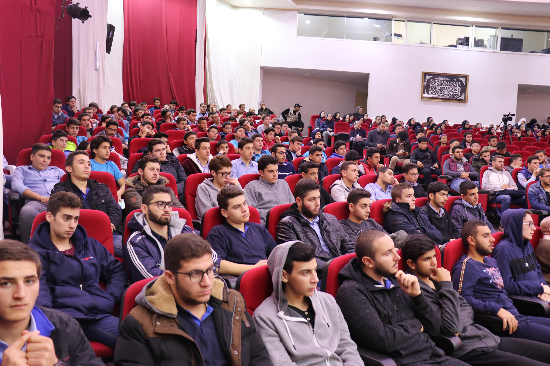 الداعية الدكتور زغلول النجار محاضِراً في جامعة طرابلس (2/5)