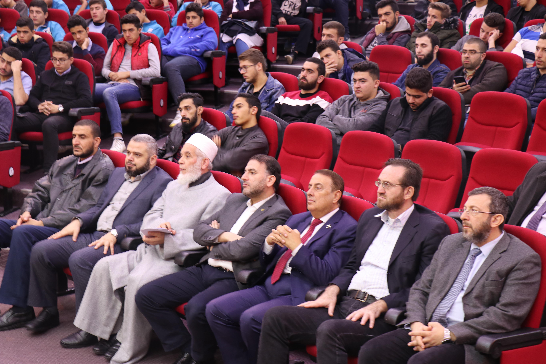 الداعية الدكتور زغلول النجار محاضِراً في جامعة طرابلس (4/5)