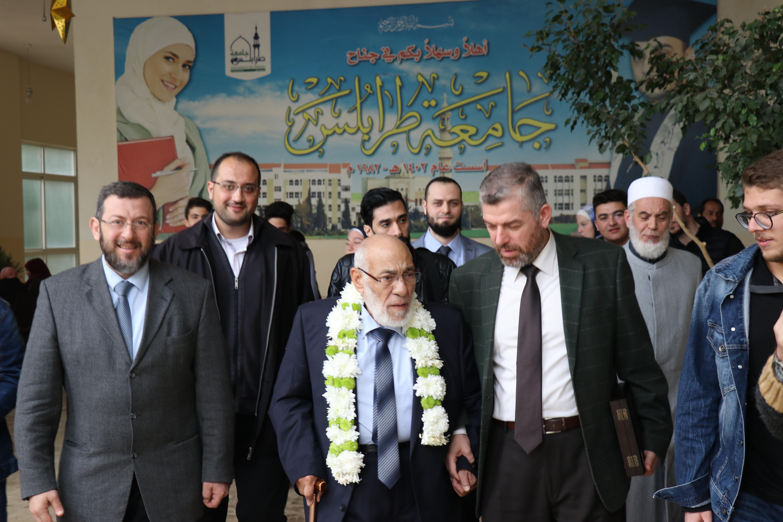 الداعية الدكتور زغلول النجار محاضِراً في جامعة طرابلس (5/5)