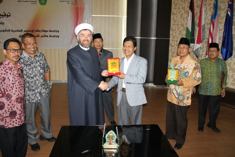 رئيس جامعة طرابلس في زيارة رسمية لجمهورية إندونيسيا (7/8)