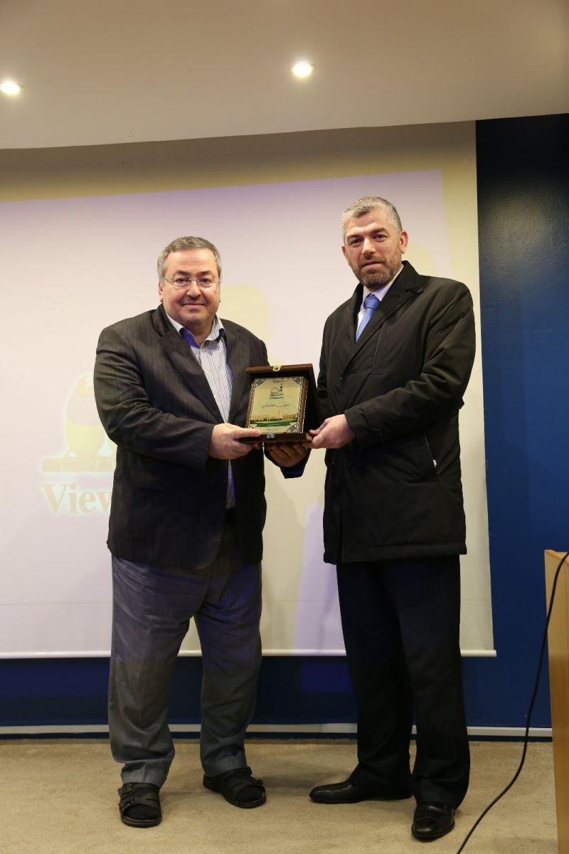 زيارة الأمين العام لاتحاد المنظمات الأهلية في العالم الإسلامي الأستاذ علي كورت إلى جامعة طرابلس (1/3)