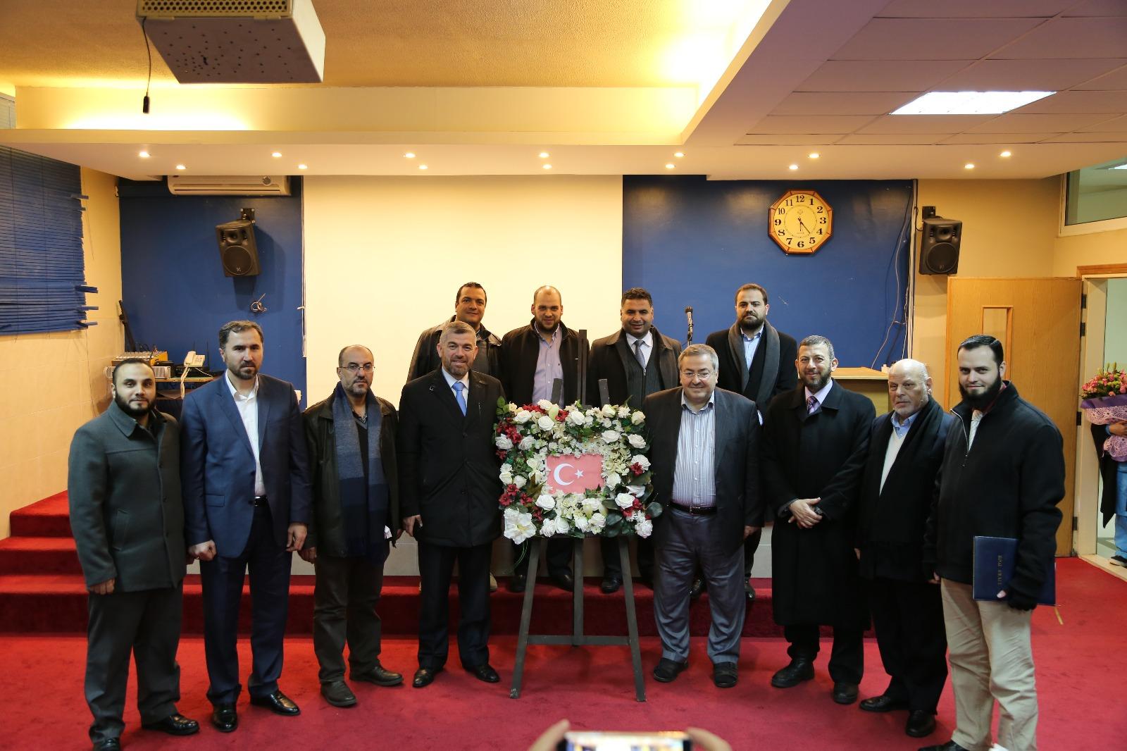 زيارة الأمين العام لاتحاد المنظمات الأهلية في العالم الإسلامي الأستاذ علي كورت إلى جامعة طرابلس (2/3)