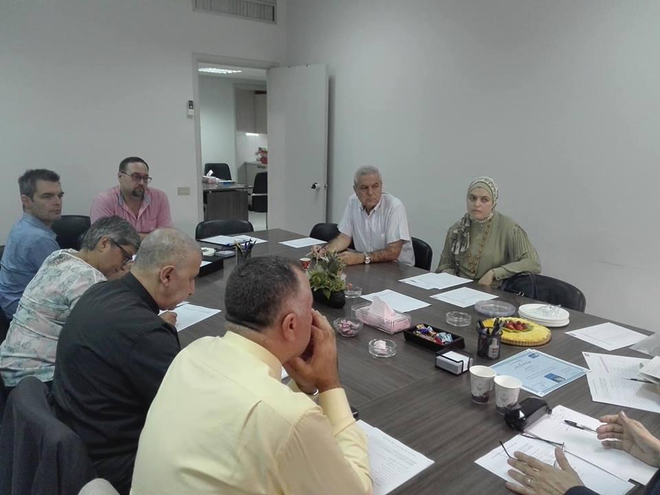 مشاركة مسؤولة قسم الجودة في جامعة طرابلس الأستاذة رندة ميقاتي في الاجتماع الأول للجنة الجودة في رابطة جامعات لبنان (1/2)